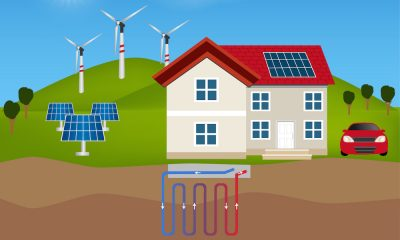 Residential Geothermal Heating & Cooling System