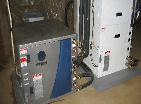 Small Geothermal Heat Pump Unit
