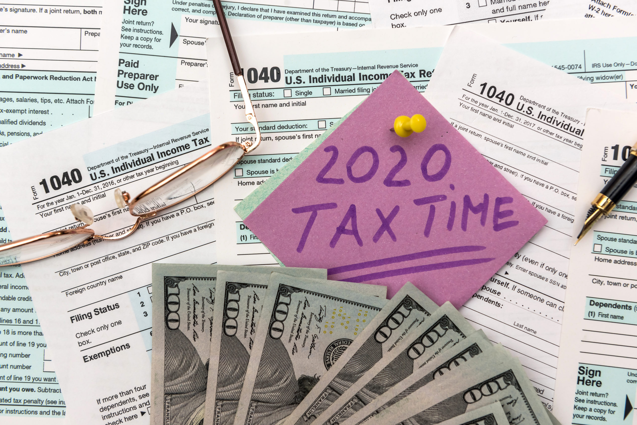 2020 Internal Revenue Service IRS 1040 1040EZ Forms Geothermal Tax Credit