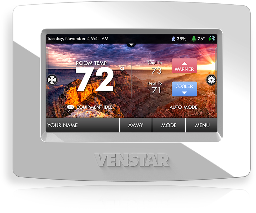 New Venstar ColorTouch Thermostat (Onboard-Wifi-Option!)